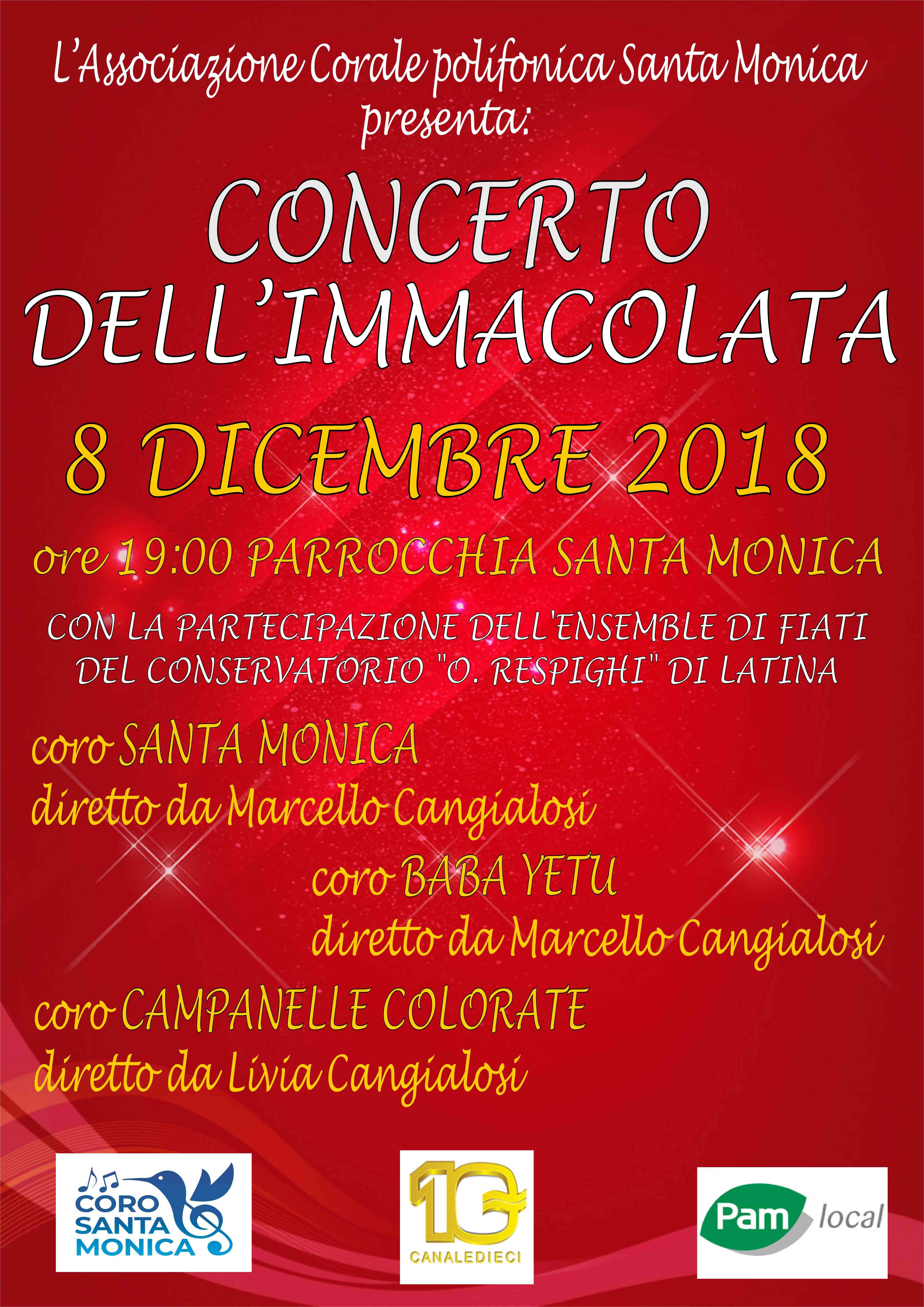 Concerto 8 dicembre
